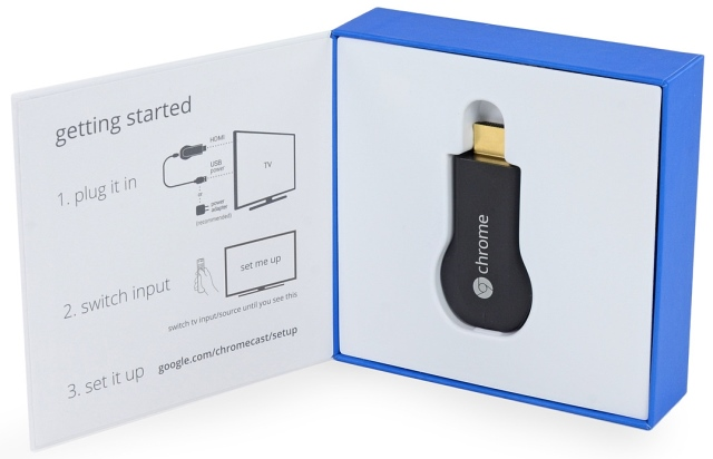 Google Chromecast: A tiny package with a lot of punch.